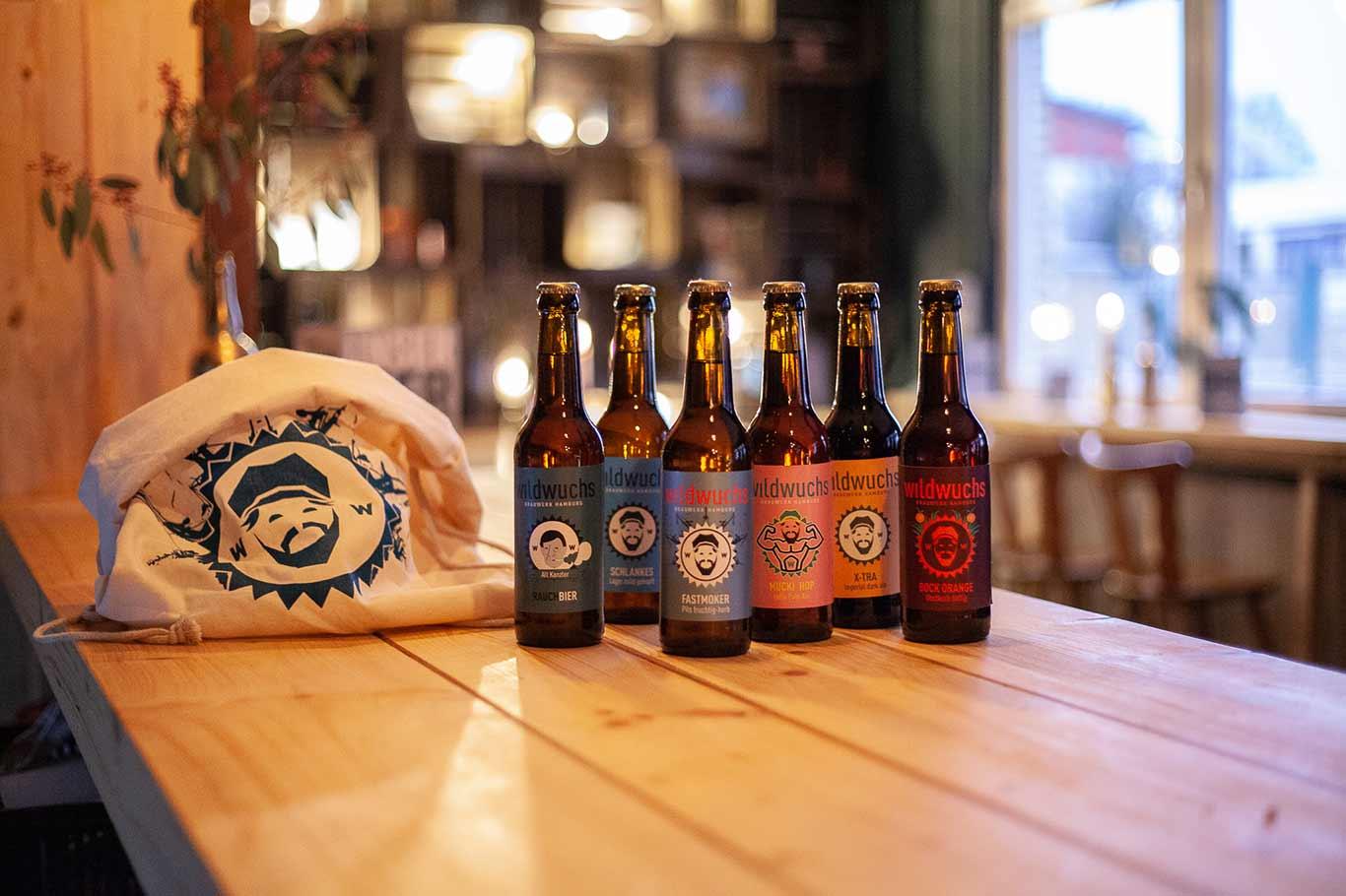 Brauerei Wildwuchs Flaschen
