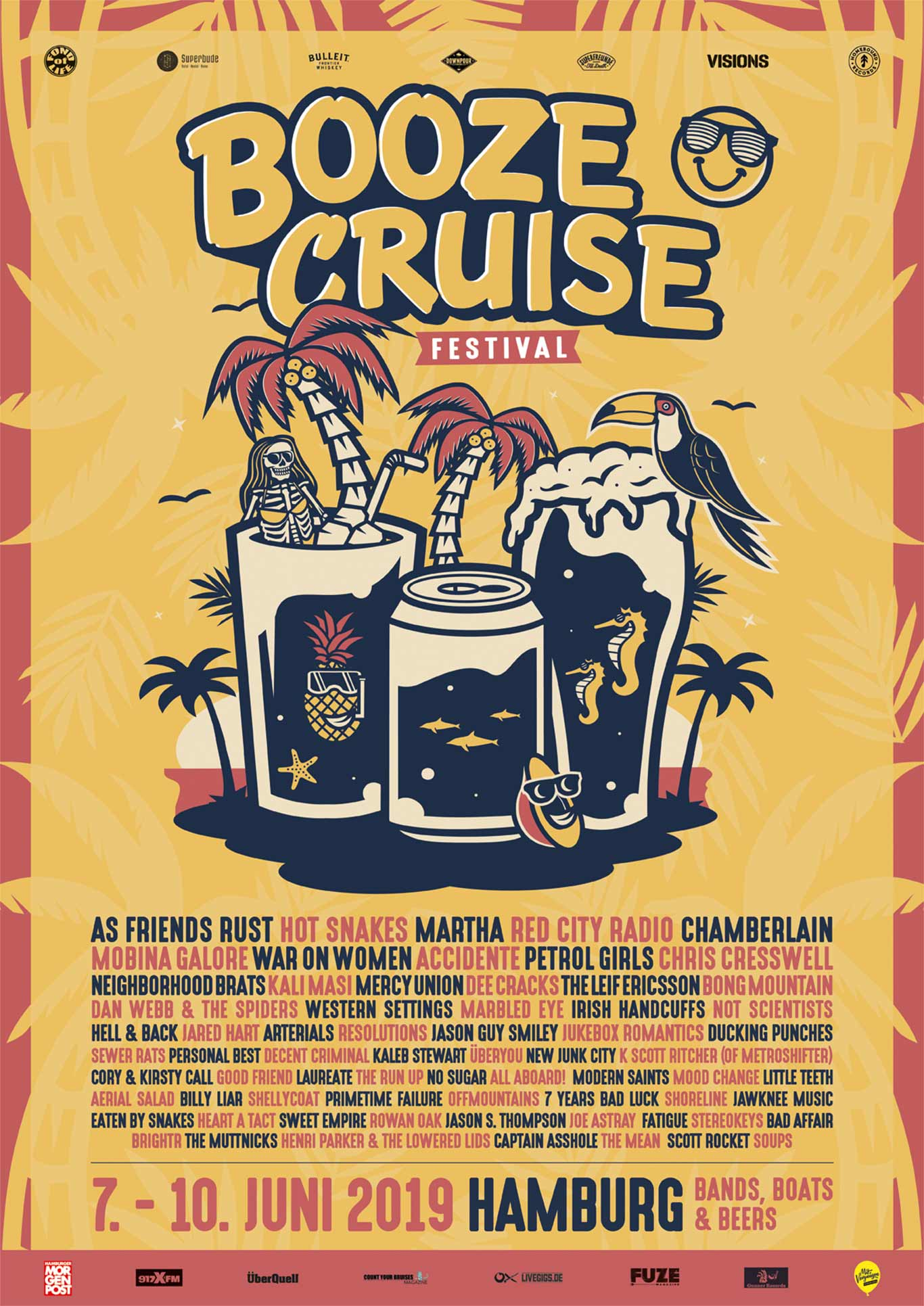 Poster Booze Cruise Festival